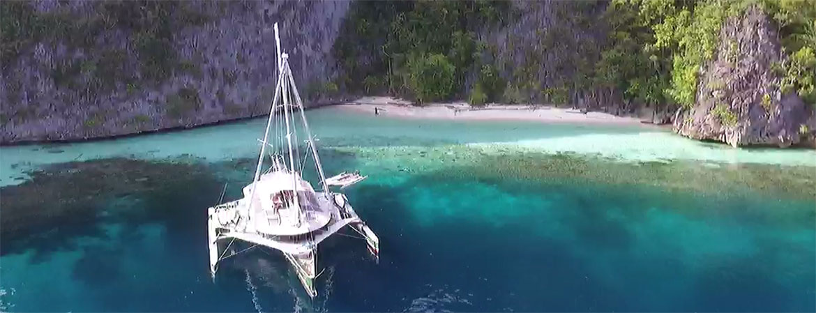 Drone Tours - BIGKANU - Indonesia's Most Innovative Charter Boat