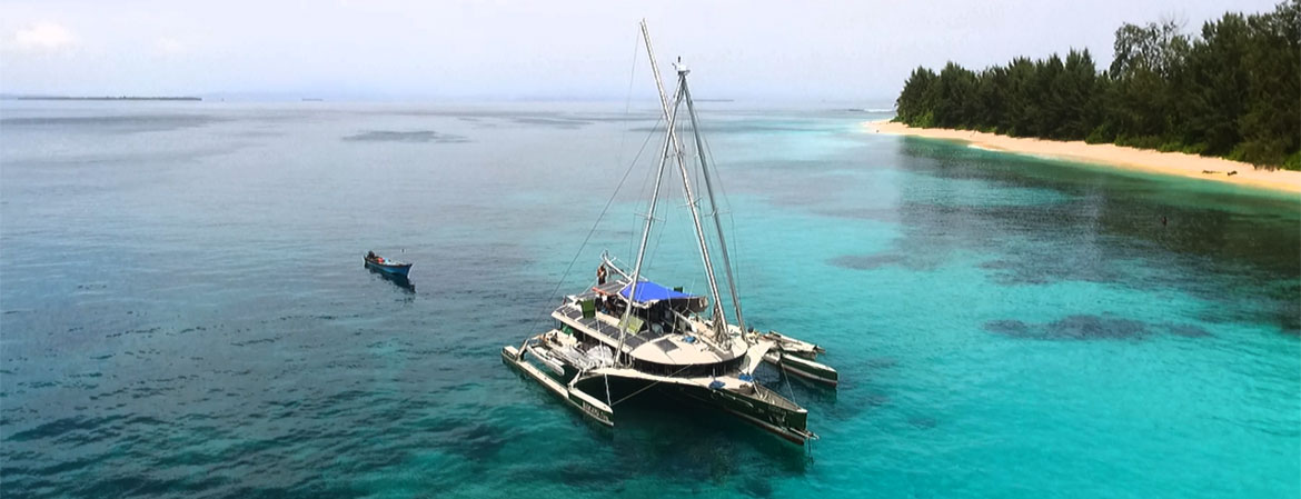 Destination BIGKANU - Indonesia's Most Innovative Charter Boat
