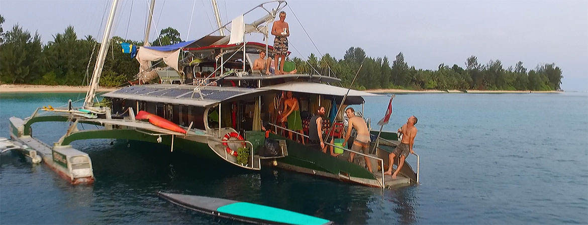 THE BOAT BIGKANU - Indonesia's Most Innovative Charter Boat