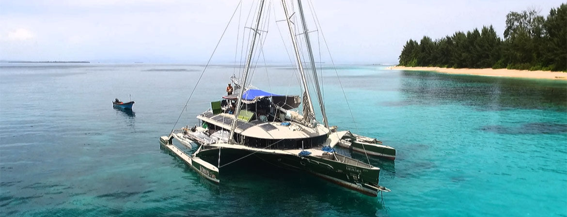 THE BOAT - SAIL BIGKANU - Indonesia's Most Innovative Charter Boat
